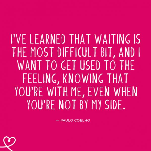30 Love Quotes About Waiting For The Right Partner Yourtango