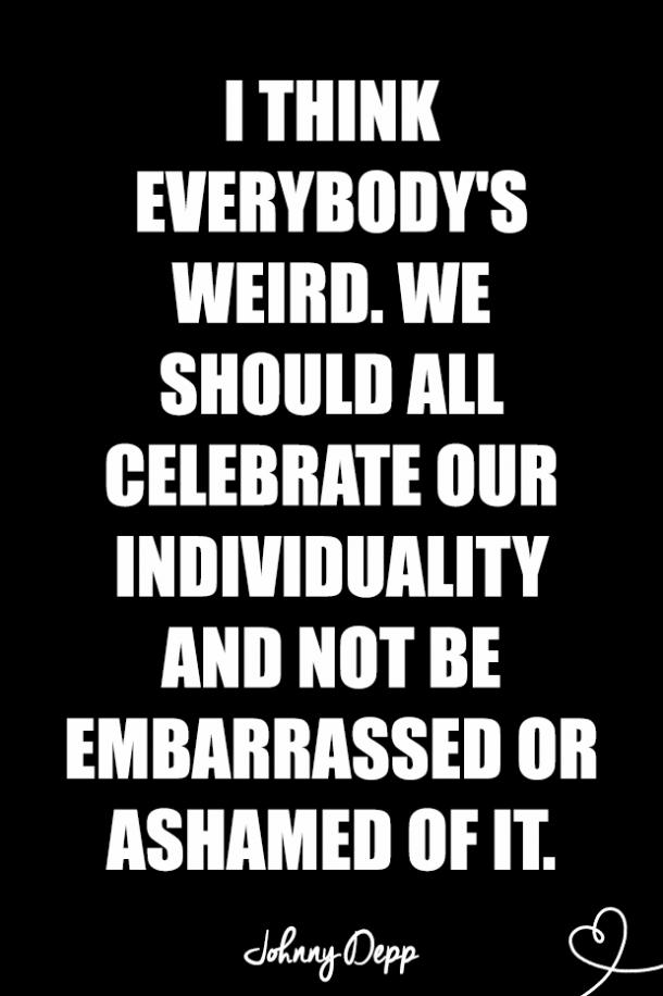 awkward quotes about being weird