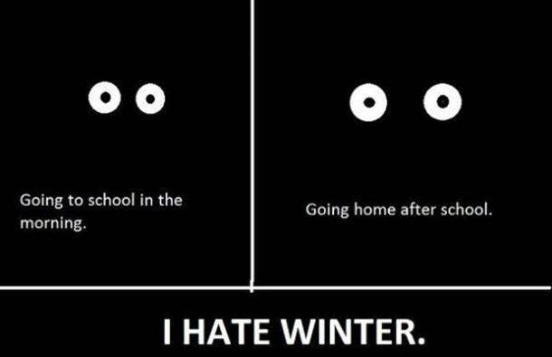 winter solstice memes