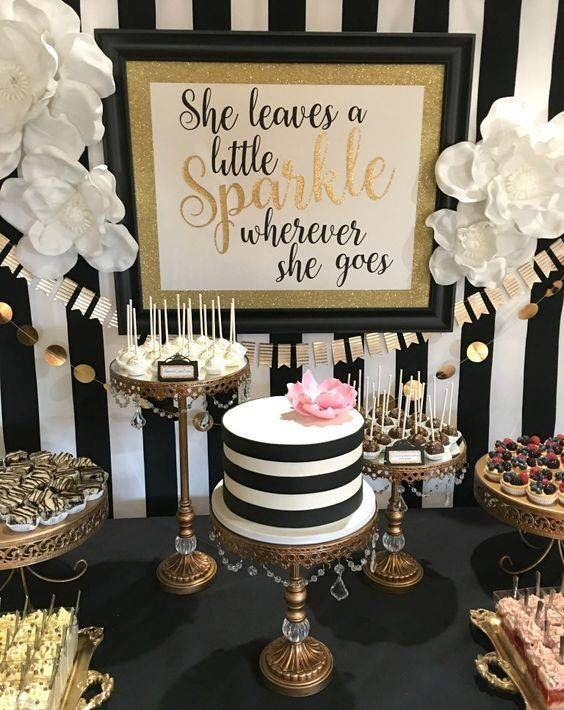 Kate Spade adult birthday party idea