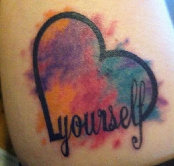 self love tattoos with deep meanings meaningful quote tattoos about self love