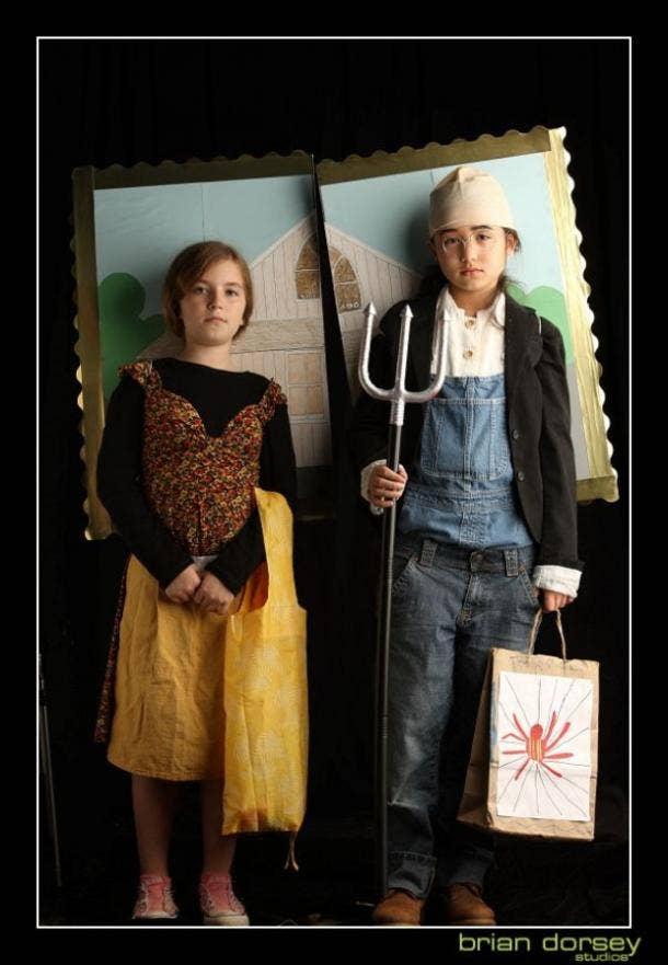 American Gothic Halloween costume