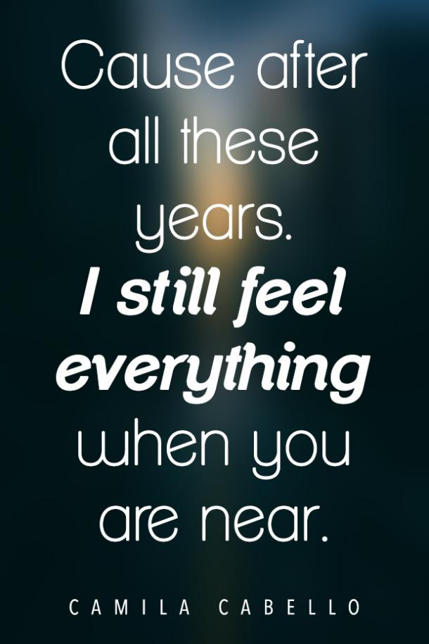 All These Years love song lyrics