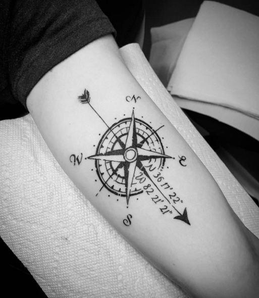 Whats The Arrow Tattoo Meaning Plus 47 Cool Arrow Tattoo Ideas