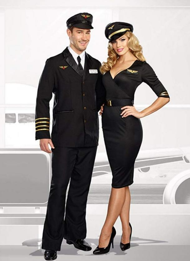 Co-pilots couples costume