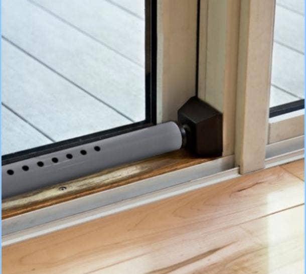 Door security bar safety tool