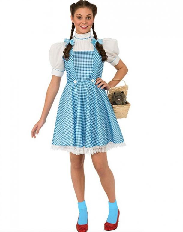 Dorothy Halloween costume for Pisces woman