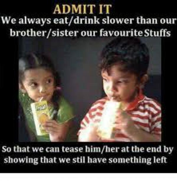 25 Funny Memes About Having Brothers Touching Brother Quotes