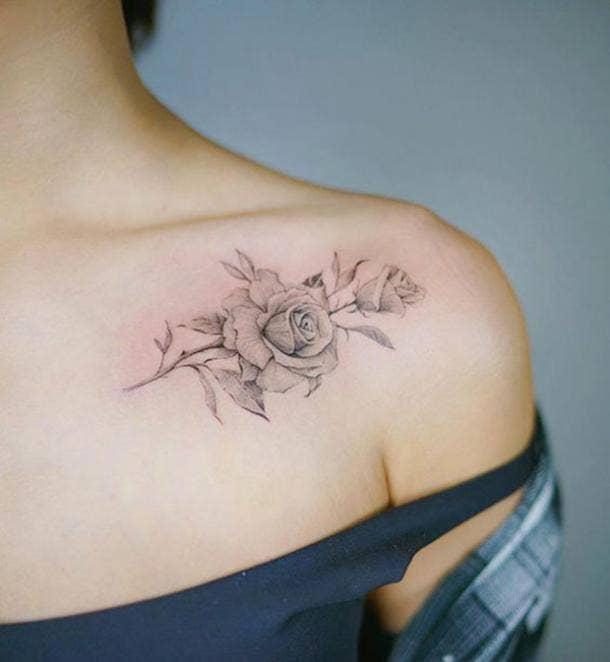 f0c1590ecd4b9 50 Simple Tattoo Ideas & Designs For Women   YourTango