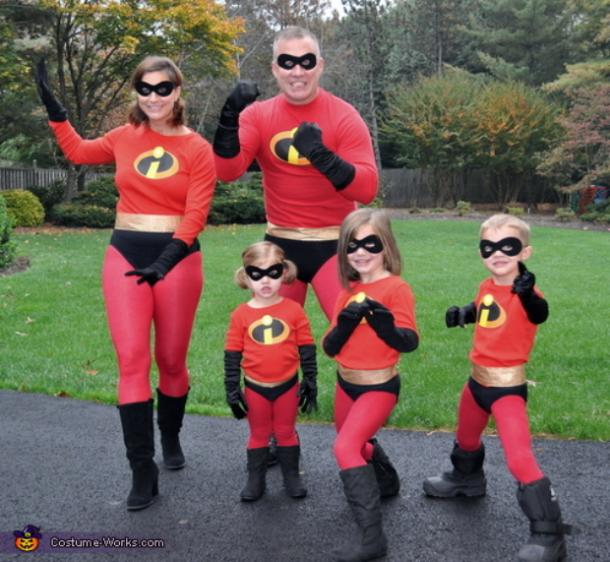 The Incredibles group Halloween costumes