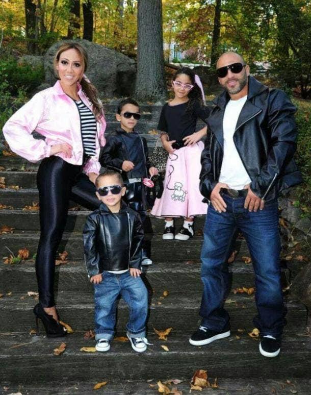 GREASE costume pink ladies jacket