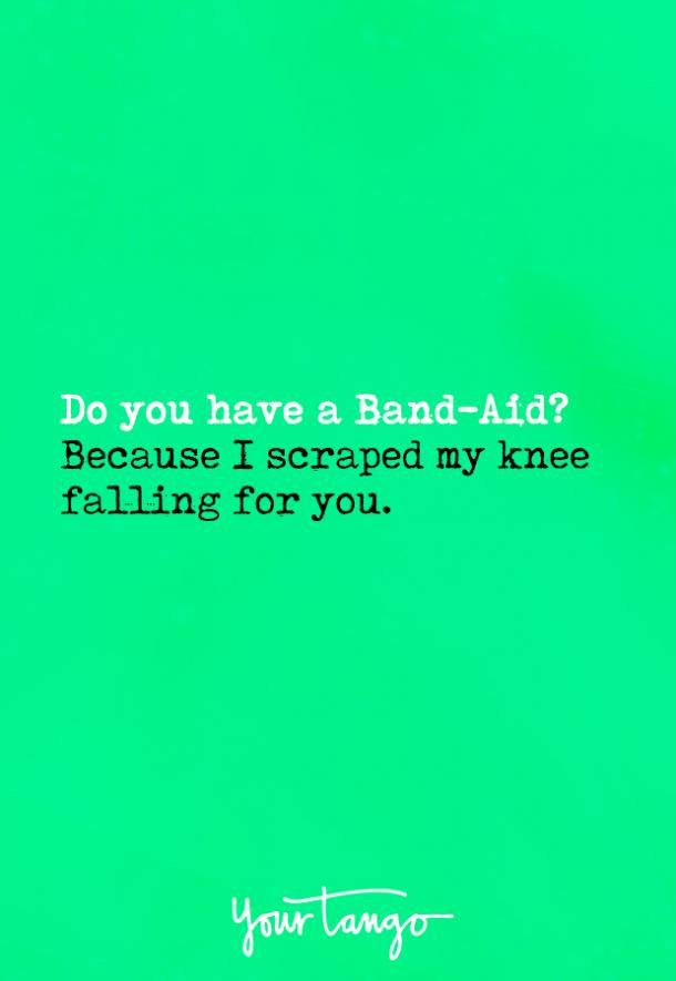 Pick up lines for flirting