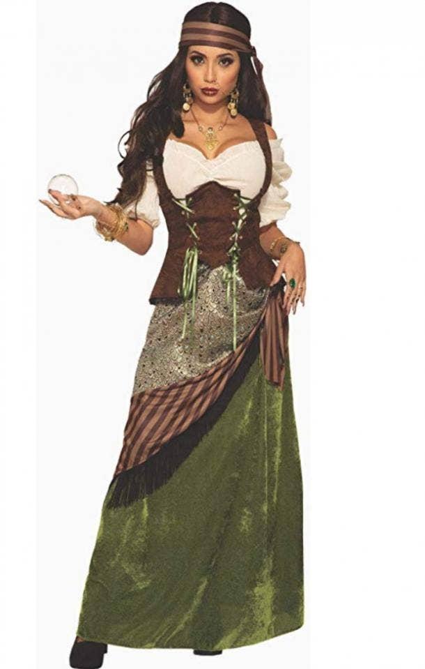 Fortune Teller Halloween Costume for Virgo
