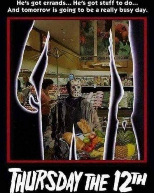 Friday the 13th memes Jason pregame