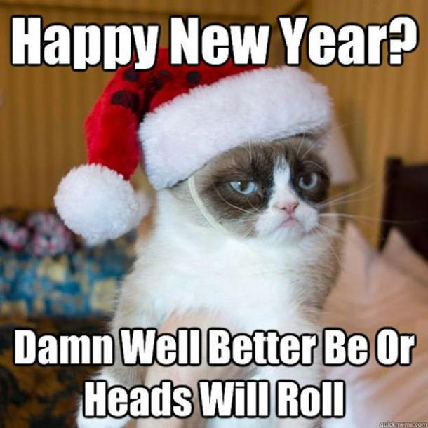funny new year meme