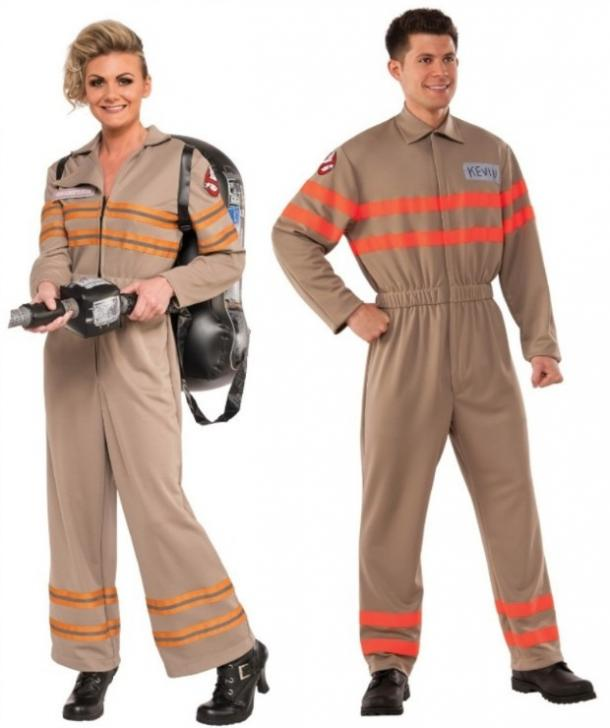 Ghostbusters couples costume