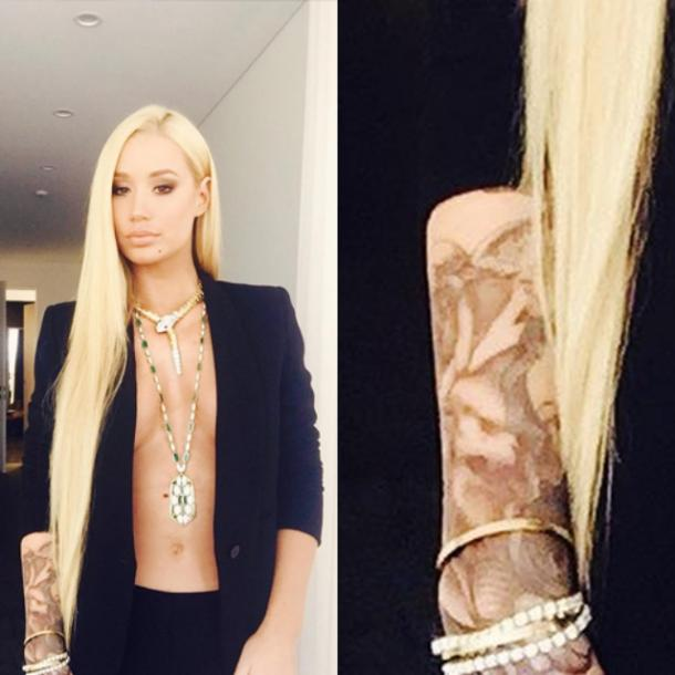 All Photos Of Iggy Azalea Tattoos And Their Meaning And