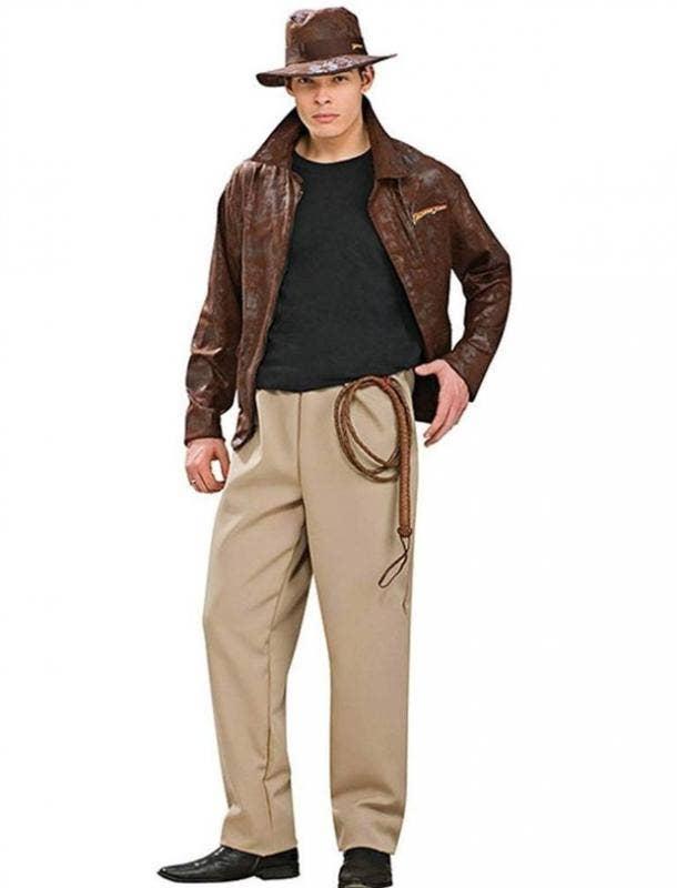 Indiana Jones Halloween costume for Aquarius