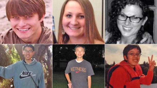 Victims of the UCSB Shooting
