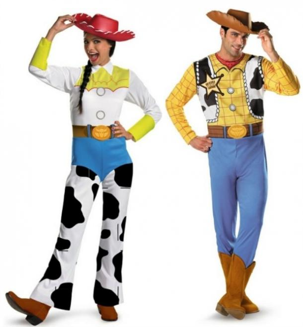Jessie and Woody couples costume