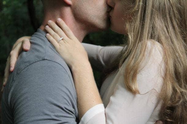 Single-Lip Kiss