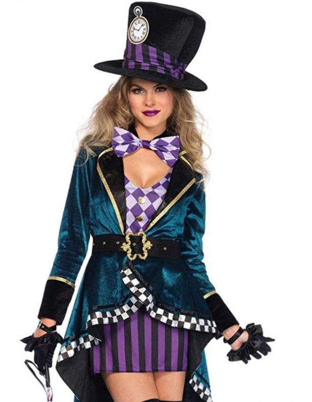 Mad Hatter Halloween costume for Cancer