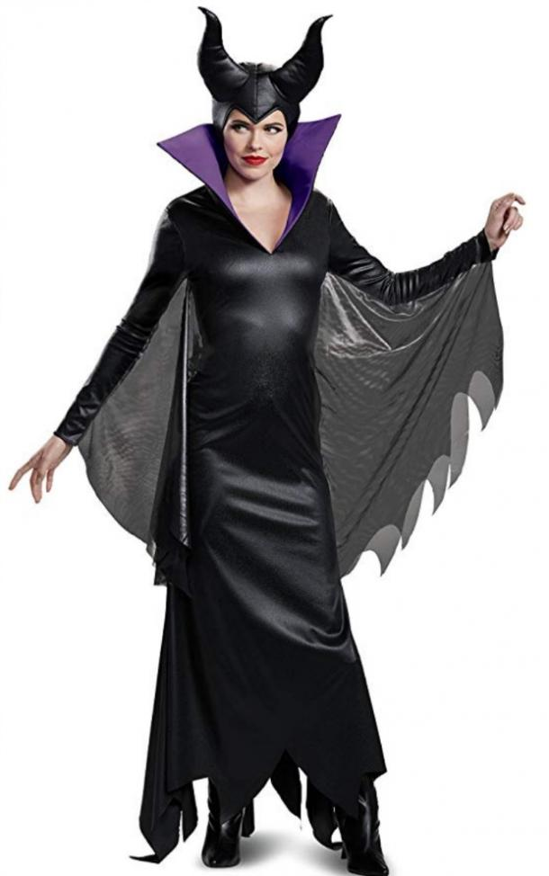 Maleficent Halloween costume for Aries
