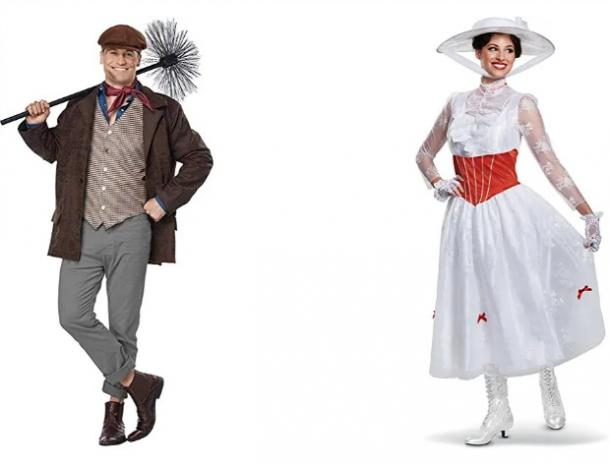 Mary Poppins and Bert couples costume