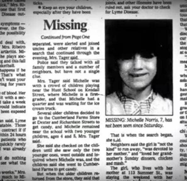 michelle norris unsolved murder