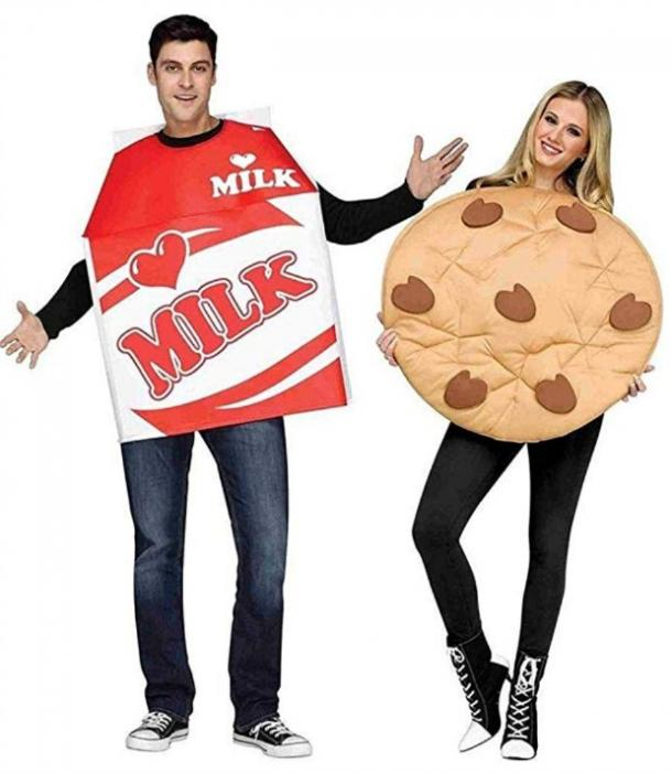 Milk and cookies couples costume