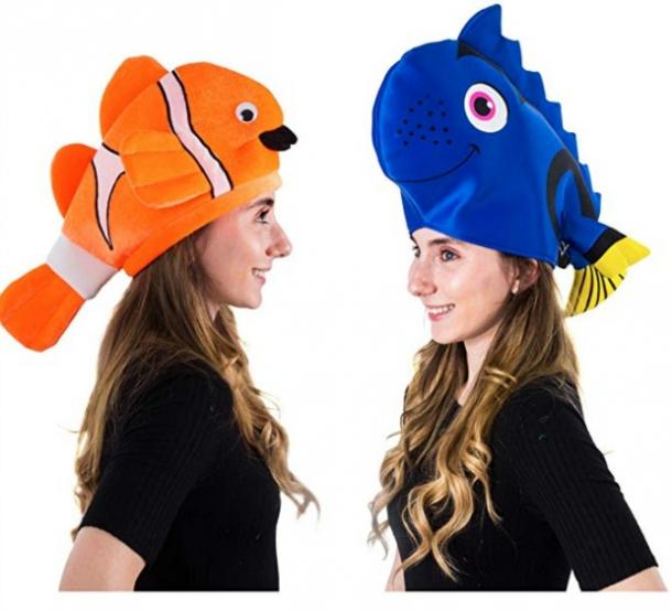 Nemo and Dory couples costume