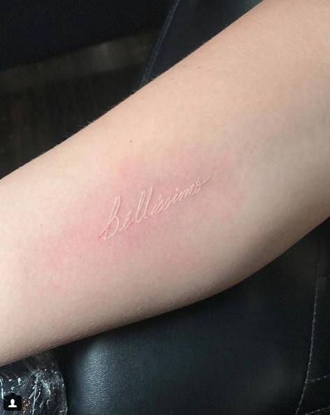 40 Cute Minimalist One-Word Tattoo Ideas For Women   YourTango