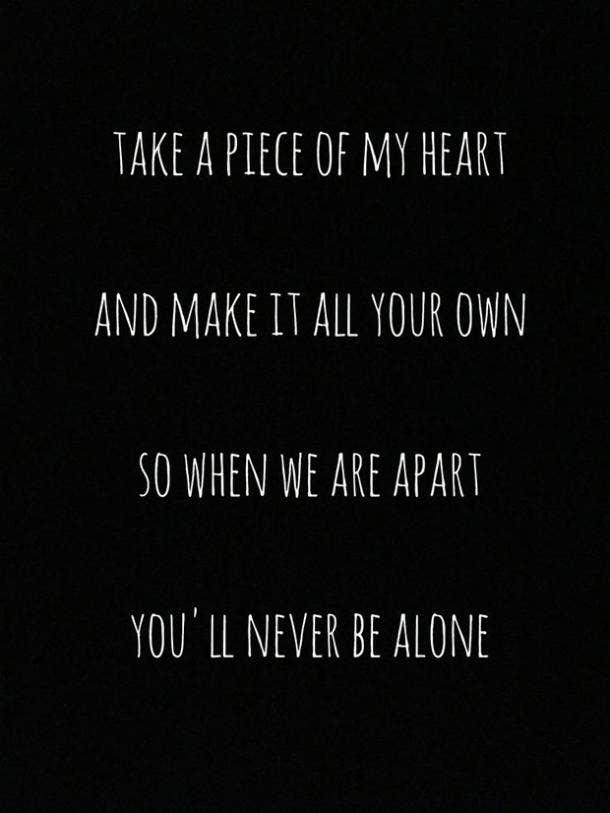 25 Best Love Quotes From Popular Song Lyrics December 2019