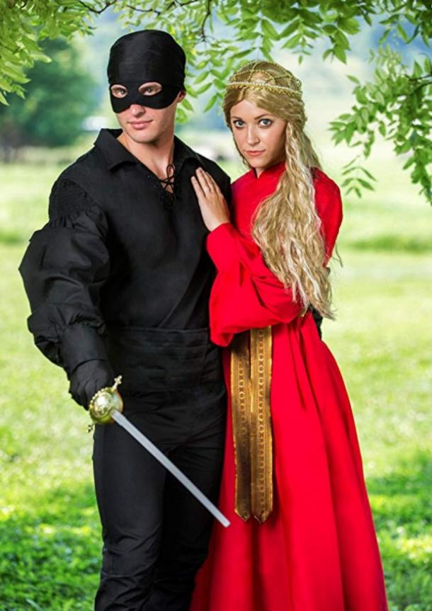 Princess Bride Buttercup and Westley couples costume