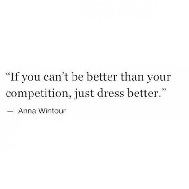anna wintour confident caption