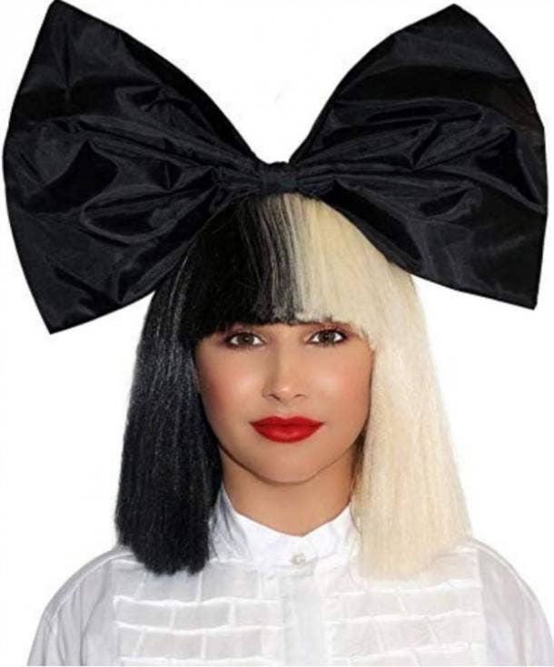 Sia Halloween costume for Gemini
