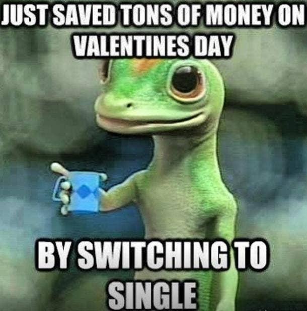 Singles Awareness Day memes being single meme funny memes