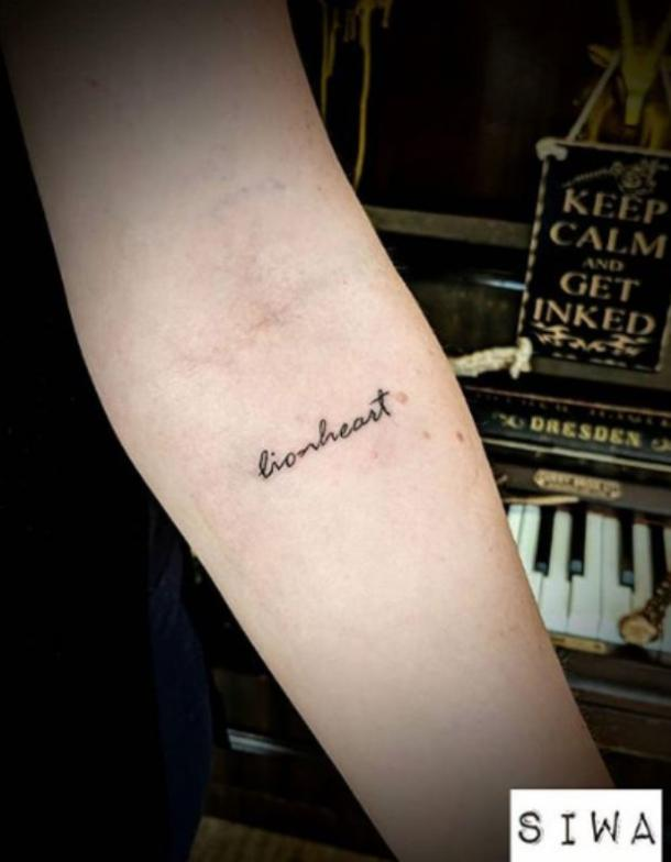 50 Best Small Meaningful One Word Tattoo Ideas Designs For Men Or Women 2019 Yourtango