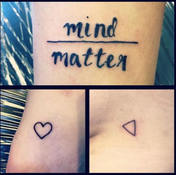 82eadf7ee646c 50 Best Small, Meaningful One Word Tattoo Ideas & Designs For Men Or ...