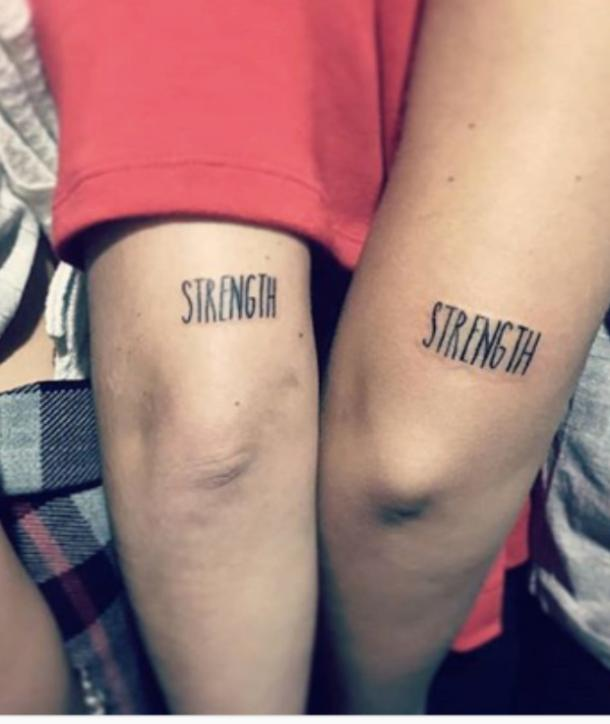50 Best Small Meaningful One Word Tattoo Ideas Designs