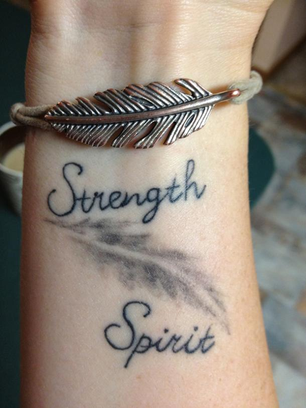 25 Female Quote Tattoos About Strength To Inspire You Every