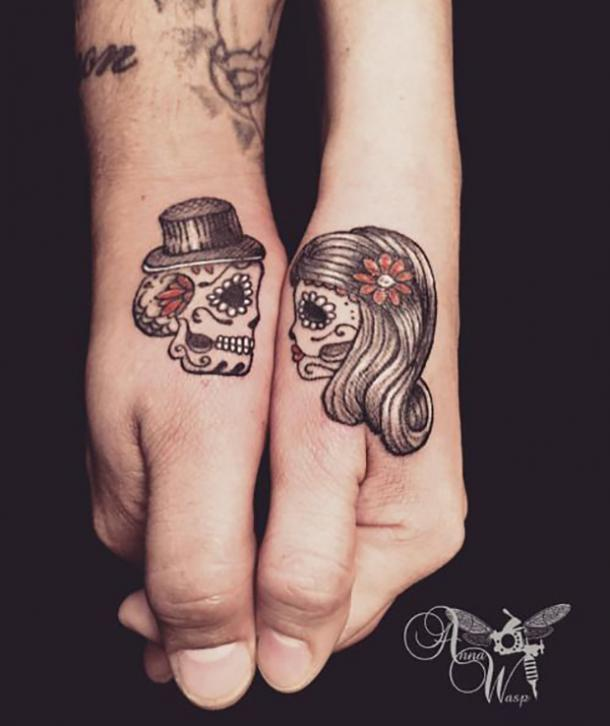 50 Best Sugar Skull Tattoo Designs What The Tattoos Mean Yourtango