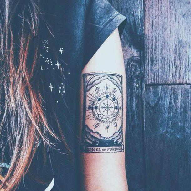 25 Powerful Tarot Tattoos & Magical Tattoo Ideas With Deep