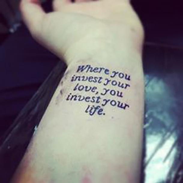 50 Best Tattoo Quotes And Short Inspirational Sayings For ...