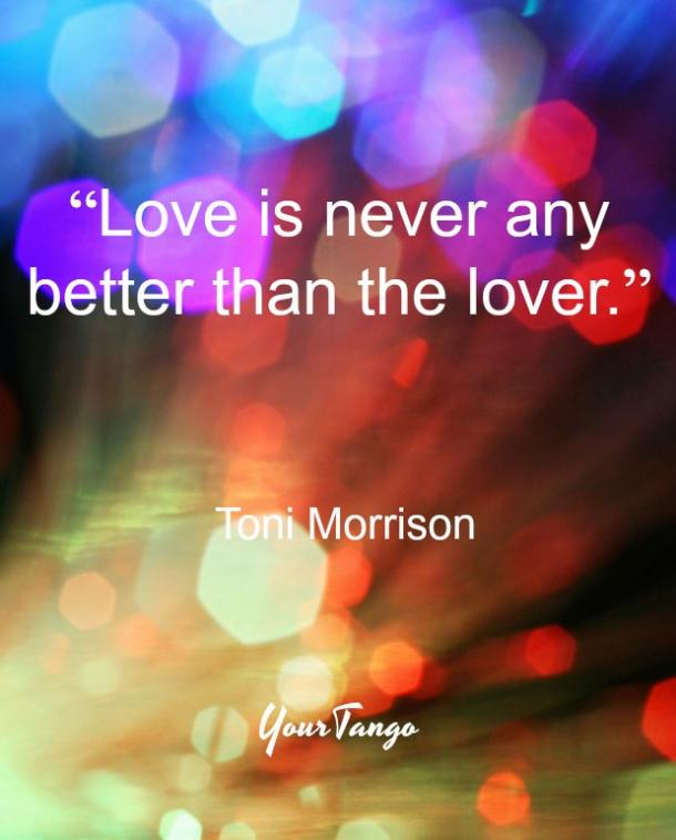 Toni Morrison love quote from The Bluest Eye