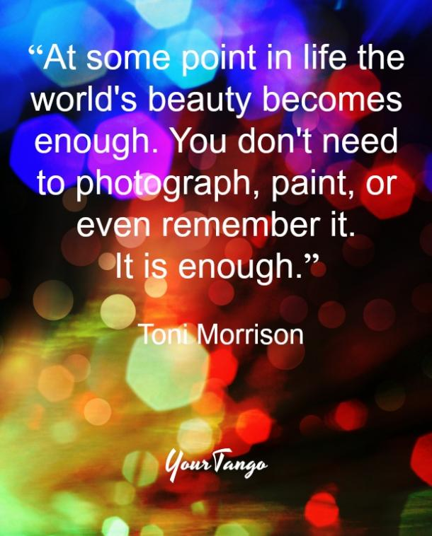 Toni Morrison quote from Tar Baby