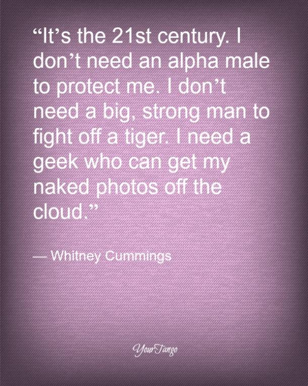 Whitney Cummings funny love quote