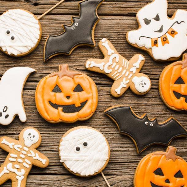halloween wedding ideas cookies