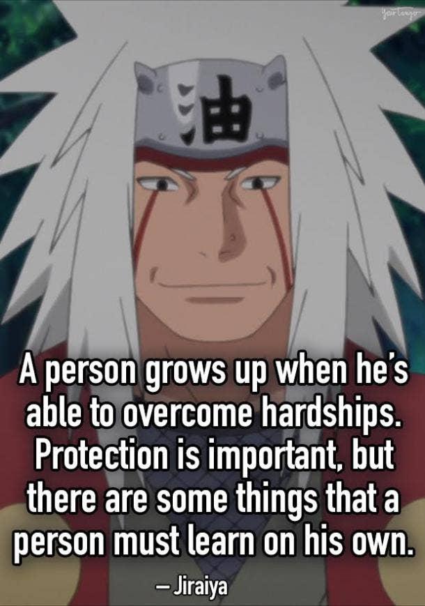 jiraiya anime quotes