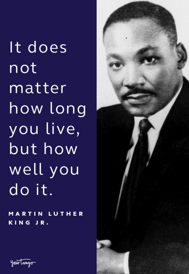 martin luther king jr quote on life